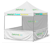 3m x 3m Square Booths