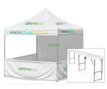 10 x 10 Canopy Booth