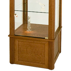 square display cabinets