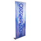 "Custom Retracting Banner, 90"" Max Height Range"