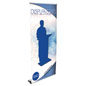 "Custom Vertical Banner with 90"" Maximum Height Range"