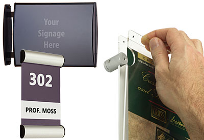 Sign Frames for Display and Wayfinding