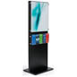 Wooden Information Kiosk Stand with Acrylic Panel