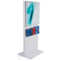 Wooden Kiosk Sign Display with Acrylic Panel