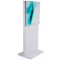 "66"" Tall White Poster Stand"