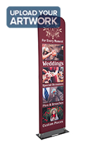 Custom Fabric Banner Stand with Aluminum Frame