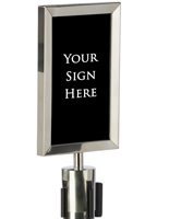 "7"" x 11"" Stanchion Frame"