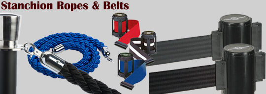 stanchion ropes and stanchion belts