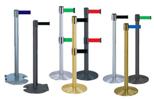 retractable belt stanchions