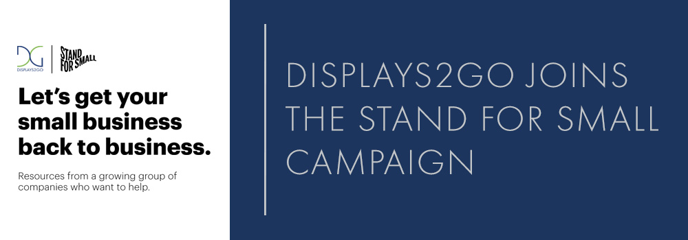 displays2go joins stand for small campaign with american express