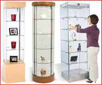 Display Cases are also Stand Alone Towers