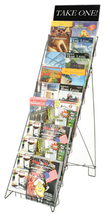 Retail Magazine Holder