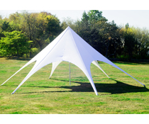 Star Tent with 6 Arch Openings