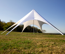 Star Canopy Tent with Water Resistant Fabric