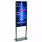 Adjustable Poster Stand with Polypropylene Backer