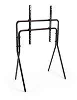 Steel artistic studio TV floor stand