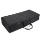 Portable floor tile transport case with zipper