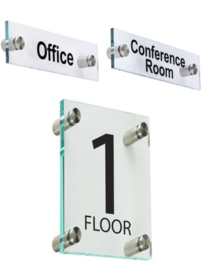 Stock Pre-Printed Wall and Door Signs