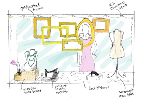 Sketch Out Your Store Window Design