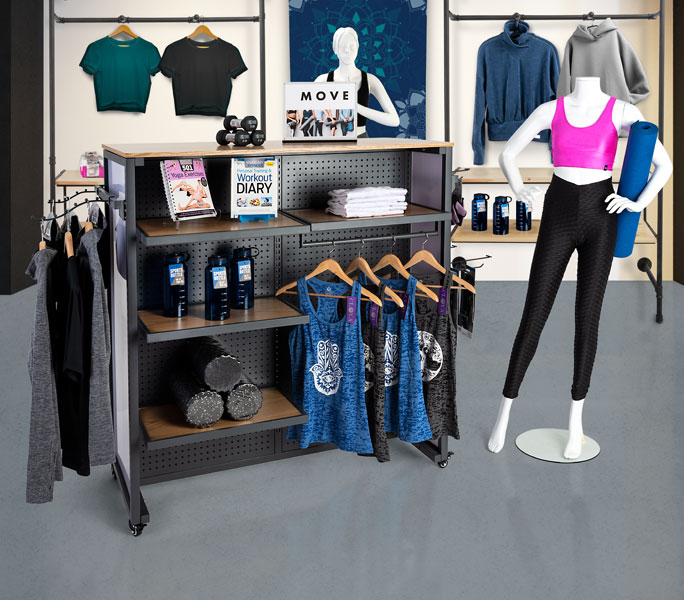 Shop store merchandising collections