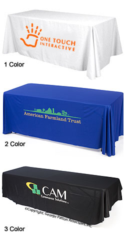 Table Skirts - 6 Foot Printed Table Covers
