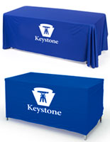 convertible table cloth with custom printing
