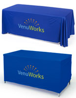 Custom Printed Convertible Table Covers