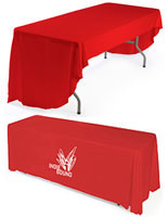 printed table covers with 1 color