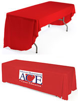 2 color printed table covers