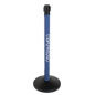 Company Advertising Custom Stanchion Wrap
