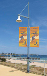 Street Pole Banners Cannot be Ignored When Placed Outdoors!