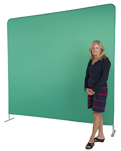 chroma key stretch fabric backdrop