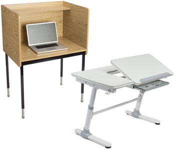 Student Desks & Carrels
