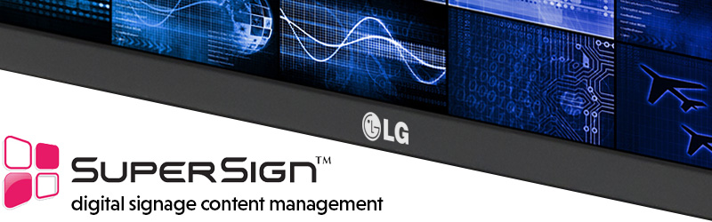 SuperSign Digital Content Manager