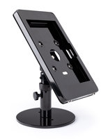 Black Microsoft Surface Pro counter stand