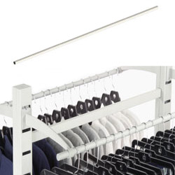 white hang rails