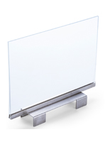 Horizontal Sign Holder for Slatwall