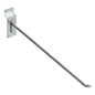 Metal 12 Inch Chrome Slatwall Hook