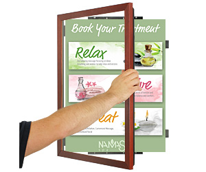 Swing-Open Poster Frames