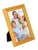 "Wood Photo Frame: 5"" x 7"" (Oak)"