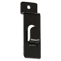 Black Slatwall Picture Hook with Powder Coating