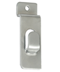 Metal Chrome Slatwall Picture Hook