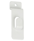 Steel White Slatwall Picture Hook