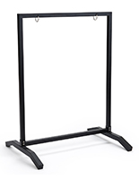 T-base 22x28 black metal sidewalk sign holder