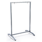 24x36 silver swinging sidewalk hanging frame with weighted base