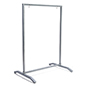 T-style 30x40 swinging silver metal sidewalk sign holder
