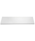 "12"" Deep x 24"" Wide White Display Shelving"