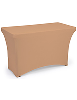 Polyester fitted spandex table covers