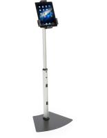 aluminum steel u0026 plastic universal tablet floor stand - Ipad Floor Stand