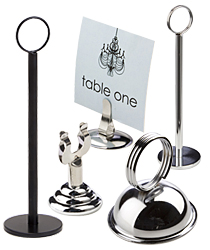 Table Number Place Card Holders